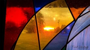 Sunrise Through Stained Glass