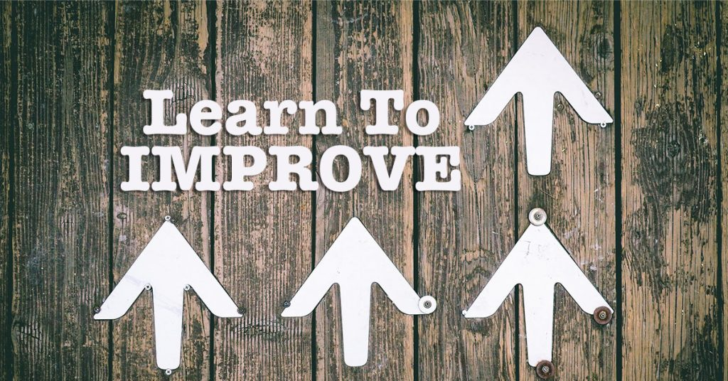 Learn to improve