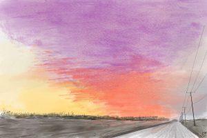 sunset challenge by Frank Deardurff